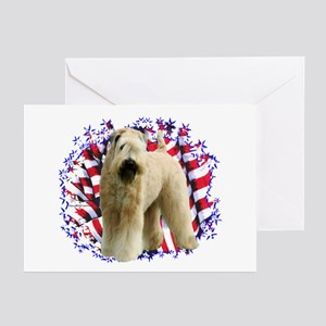 Wheaten Patriot Greeting Cards (Pk of 10)