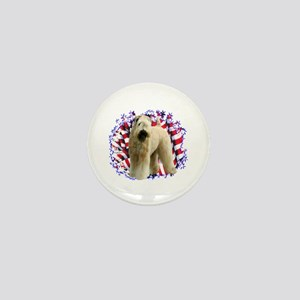 Wheaten Patriot Mini Button