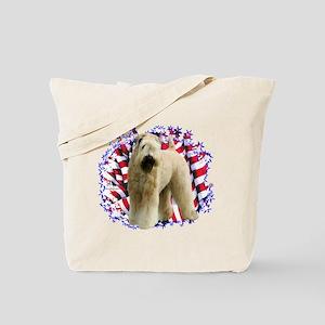 Wheaten Patriot Tote Bag