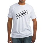 Engaged Stamp Fitted T-Shirt