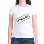 Engaged Stamp Jr. Ringer T-Shirt