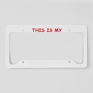 CRICKET License Plate Holder