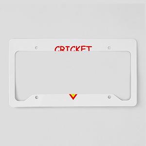 CRICKET2 License Plate Holder