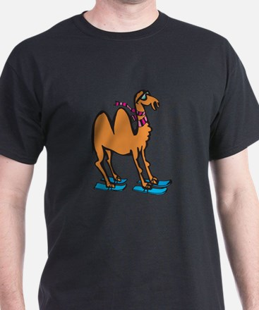 Silly Skiing Camel T-Shirt