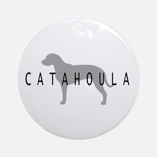 Catahoula Ornament (Round)