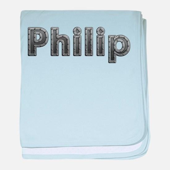 Philip Metal baby blanket