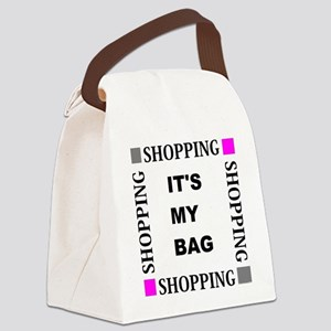 Shopping - Its My bag Canvas Lunch Bag