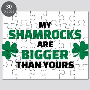 My shamrocks are bigger than yours Puzzle