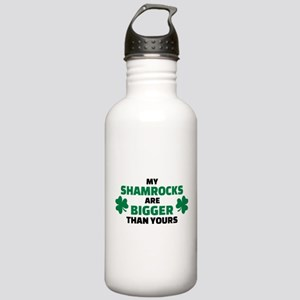 My shamrocks are bigge Stainless Water Bottle 1.0L