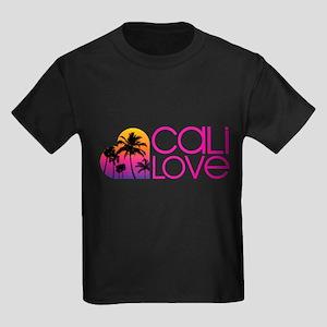 Cali Love #1 Kids Dark T-Shirt