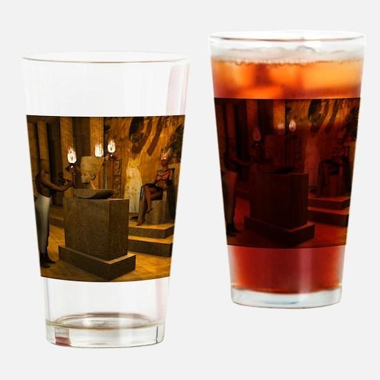 Queen Nefertiti's Bust Drinking Glass