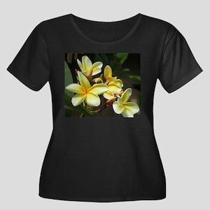 FRANGIPANI Plus Size T-Shirt