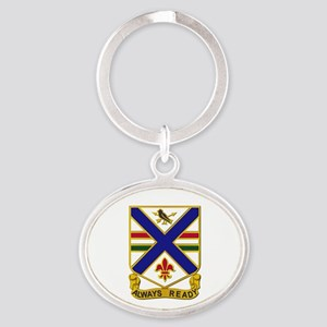 DUI - 130th Infantry Regt Oval Keychain