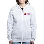 Cali Love #1 Women's Zip Hoodie