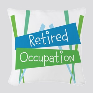 CUSTOMIZE Retired Woven Throw Pillow
