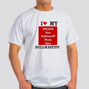 Bullmastiff-Love My Bullmastiff-Personalized T-Shi