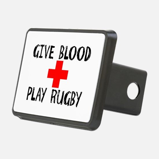 Give Blood, Play Rugby Hitch Cover