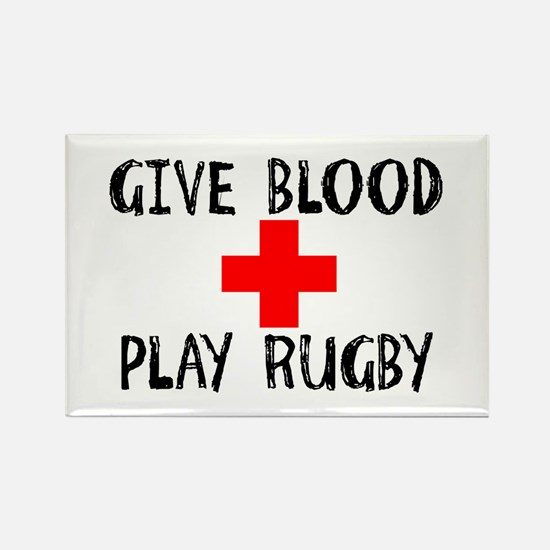 Give Blood, Play Rugby Magnets