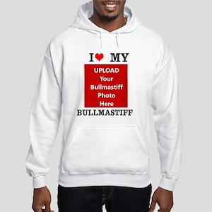 Bullmastiff-Love My Bullmastiff-Personalized Hoodi