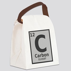 Carbon Canvas Lunch Bag