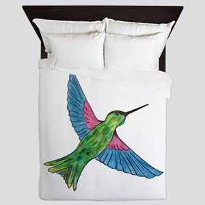 Hummingbird Queen Duvet