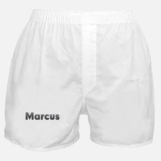 Marcus Metal Boxer Shorts
