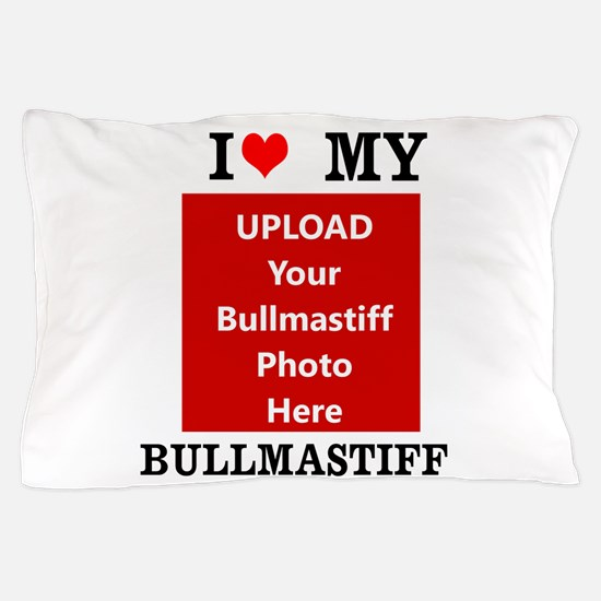 Bullmastiff-Love My Bullmastiff-Personalized Pillo