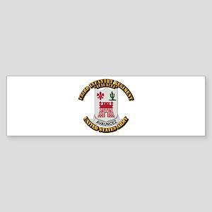 DUI - 133rd Infantry Regt w Text Sticker (Bumper)