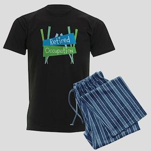 CUSTOMIZE Retired Men's Dark Pajamas