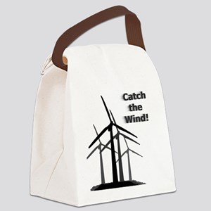 Catch The Wind! Canvas Lunch Bag