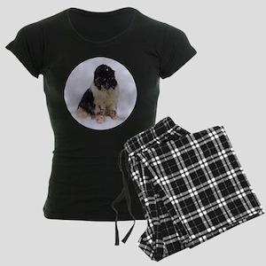 Snowy Landseer Women's Dark Pajamas