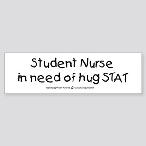 Need Hug STAT Bumper Sticker
