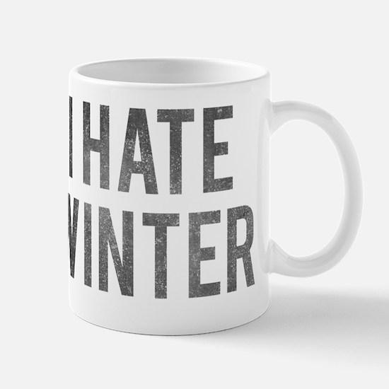 I Hate Winter Mug