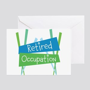 CUSTOMIZE Retired Greeting Card