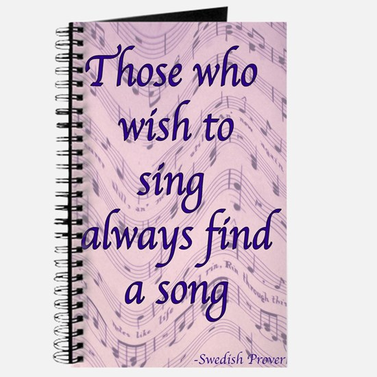 Find A Song Journal
