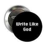 The Write Like God Button [black]