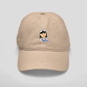 Medium Navy Head - Dress Whites Cap