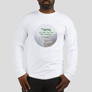 cows_button_zazzle Long Sleeve T-Shirt
