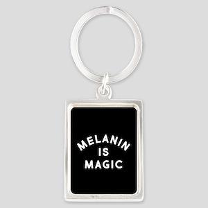 Melanin Is Magic Portrait Keychain