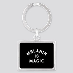 Melanin Is Magic Landscape Keychain