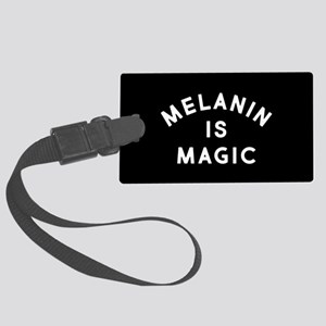 Melanin Is Magic Large Luggage Tag