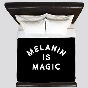 Melanin Is Magic King Duvet