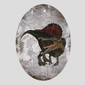 Spinosaurus Oval Ornament