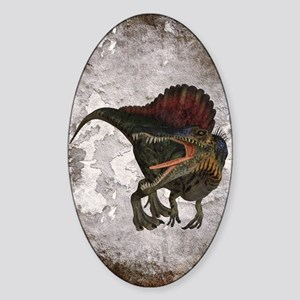 Spinosaurus Sticker (Oval)