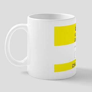 Keep Calm and Chill Out Ketamine Yellow Mug
