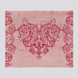 Grotesquerie Valentine Throw Blanket