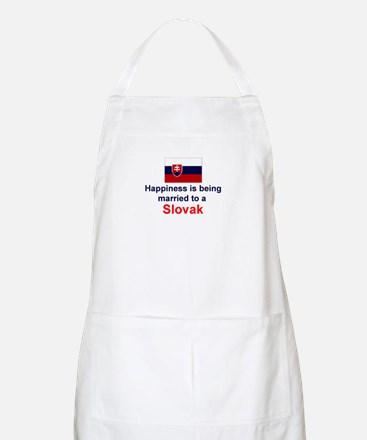 Happily Married To A Slovak BBQ Apron