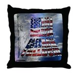 America Freedom Throw Pillow