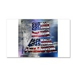 America Freedom Car Magnet 20 x 12