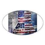 America Freedom Sticker
